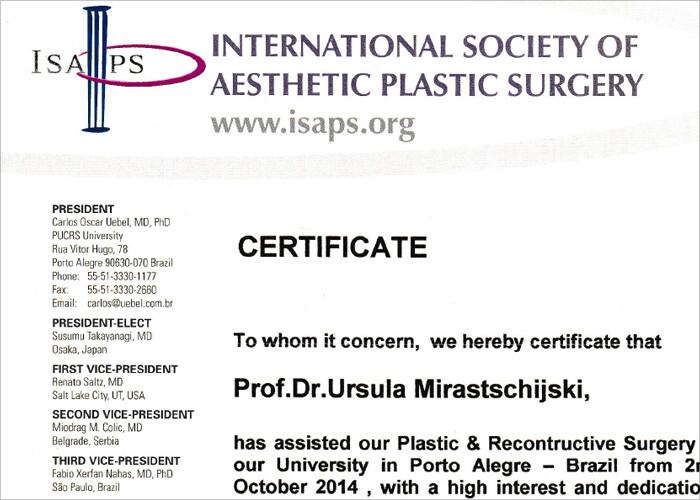 certificate carlos uebel 2014