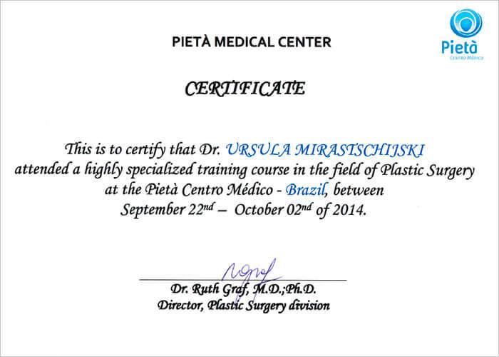 certificate ruth graf 2014